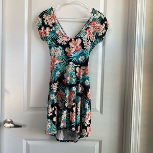 Victoria's Secret Pink Hawaiian Print mini dress M